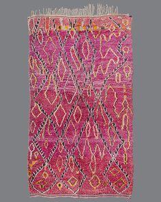 vintage Moroccan rug, Aït Bou Ichaouen #TS21