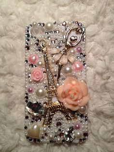 Blingbling Ballet Girl Decoden Iphone case by CChandcraftstore, $29.95