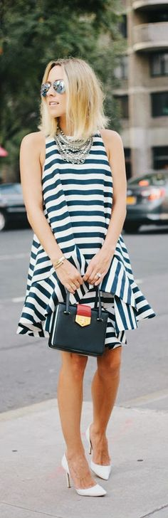 Daily New Fashion : CITY STRIPES by Damsel in Dior