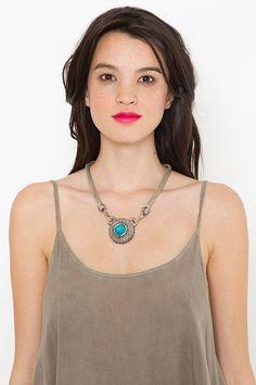 Pueblo Turquoise Necklace $35