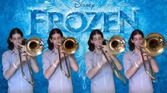 Frozen - Let It Go: Trombone Arrangement i need a fourth trombone so we can take this to contest.