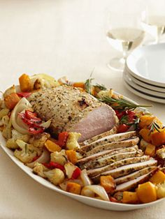 Savory Herb Pork Roast with Gravy | Recipe | Pork Roast, Roasts and ...