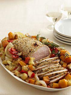 Harvest Pork Roast and Vegetables
