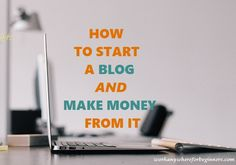 HOW TO START A BLOG - Work Anywhere For Beginners How To Start A Blog, How To Make Money, First Website, Site Hosting, Blog Topics, Hosting Company, Trending Topics, Work From Home Jobs, To Focus