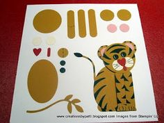 Year of the Tiger Stampin' Up! Punch Art