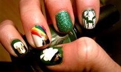 st. patrick's day parade in detroit nails