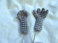 Amigurumi #crochet #fingers