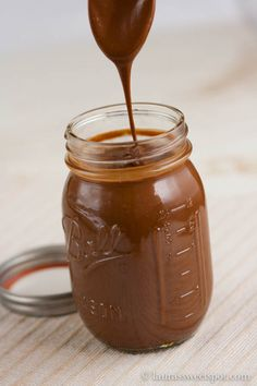 It is so EASY to make your own Homemade Chocolate Peanut Butter- you wouldn't believe it!
