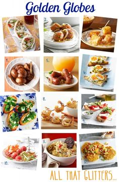 Golden Globes Party   BHG Delish Dish