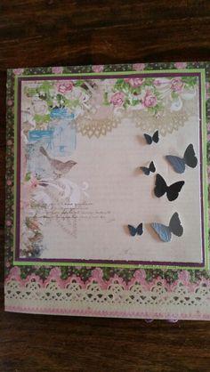 Sommerfugl  kort
