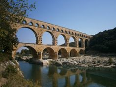 Childhood summers - Pont du Gard September 2011