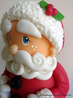 Papá Noel - Porcelana Fría - Santa Claus - Cold Porcelain