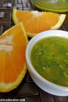 Vinagreta de naranja *aderezo para ensaladas