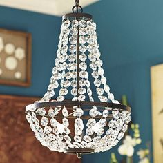 empire-style chandelier for bedroom