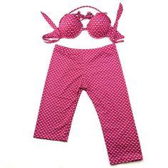 2017 New Style Women Asymmetric Long Leg Shorts Swimwear Mermaid Swimsuit Push Up Bikinis Set Long and Short Boyshorts
