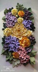 Floral Design - Quilling by: Svetlana Bystrova