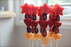 Great fruit wands #watermelon #fruit #wand