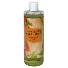 Nature's Alchemy Grapeseed Oil, With Vitamin E, 16 fl oz (473 ml) by Nature's Alchemy. $14.75. These oils represent the best choices for creating perfect massage or bath oil blends, as well as for creating emollient lotions for your skin.. No synthetic fragrances, colors or binders are used.. It will make your skin feel silky smooth.. Our carrier oils are the perfect complement to our 100% pure natural essential oils.. For cosmetic use only. Grapeseed oil is esteemed for i...