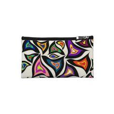 Designer cosmetic bag  http://www.zazzle.com/robleedesigns/bags