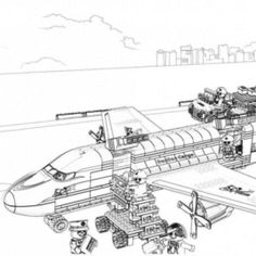Police Helicopter Coloring Pages AZ