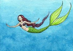 mermaid tattoo inspiration