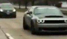 Dodge Challenger Demon sarà disponibile con tecnologia dragster professionale - ClubAlfa.it
