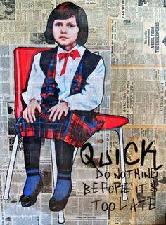 """Saatchi Online Artist Annie Terrazzo; Drawing, """"Beethovan"""" #art"""
