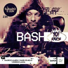 #VEJA Music: Bash! Yo! Raps #agenda @paroutudo via ParouTudo http://ift.tt/1XfMHdU #Raynniere #Makepeace