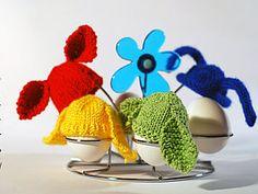 Заячьи шапочки для пасхальных яиц - Ярмарка Мастеров - ручная работа, handmade