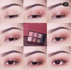 Tips And Suggestions For Managing Your Skincare Issues - Beauty Skincare Products Soft Eye Makeup, Asian Eye Makeup, Eye Makeup Steps, Simple Eye Makeup, Eyeshadow Makeup, Korean Makeup Look, Korean Makeup Tips, Korean Makeup Tutorials, Ulzzang Makeup Tutorial