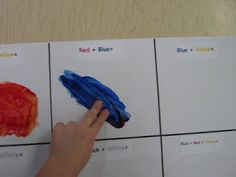 "2009-2010 Pre-K ""A"": COLOR MIXING ACTIVITY"