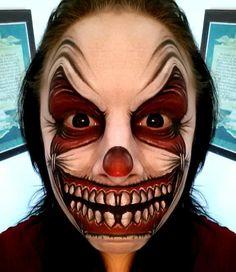 Resultado de imagen para evil jester painted faces