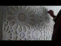 Гипсовый рельеф , картины . Wall sculpture. - YouTube
