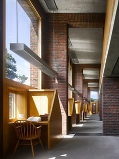 Bibliothèques du Monde Phillips Exeter Academy Library, dans le new-Hampshire, aux Etats-Unis Photo Will Pryce