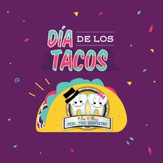 October 4th is National Taco Day! LET'S TACO-BOUT how much we love tortillas, tasty fillings, and flavorful spices! What are a few of your favorite taco ingredients?  Palm Valley Pediatric Dentistry    #activities #getaway #trip #fun #vacation #travel #SelfieForSeb #IfYouWereMineWeWould #pediatricdentistry #child #cooking #yummy #healthy #recipes #recipe #yum #nomnom #instafood #foodie #delicious #cook #dentistry #health #dental #healthcare #teeth #dentist #smile #world