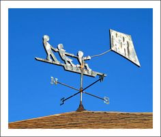 New England Weather Vane   by BlueisCoool