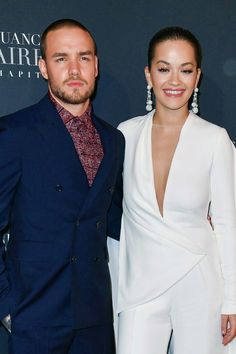 Liam Payne and Rita Ora  at the #FiftyShadesFreed premiere in Paris - 6/2