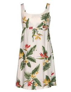White Dress Birds of Paradise Adjustable Front Tie