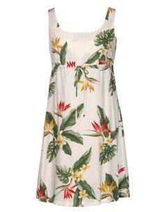 White Dress Birds of Paradise Adjustable Front Tie