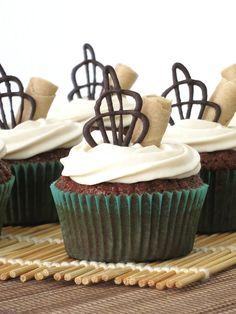 Chocolate and coffee cupcakes