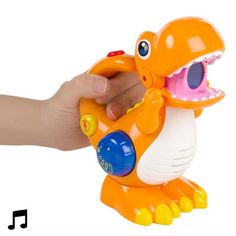 Voice Recorder and Player Dinosaur with LED