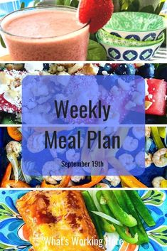 Did you know there are companies out there that will cook, portion & deliver healthy meals right to your door? Yep! It's true. This week I'm planning my meals with the help of a meal prep service. Check out what is on this week's menu and how a meal prep service works.