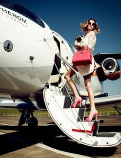 The Peak of Tres Chic: Leaving On A Jet Plane.... In Less Than 24 Hours!!