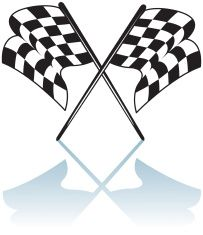 checkered flag coloring pages - photo#19