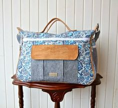 The Dogwood Travel Duffel Bag  A PDF Sewing Pattern from Blue Calla Patterns