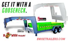 Maximize the capabilities of the BWise DLP Series Dump Trailers - Get It With A Gooseneck! Dump Trailers, Innovation, Toddler Bed, How To Get, Shower, Bathroom, Home Decor, Child Bed, Rain Shower Heads