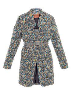 MISSONI  Boucle inverted-lapel coat - Matches
