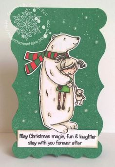 Designed by Sarah Bell using Hugs stamp set by Little Claire Designs