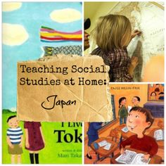 Activities and books to teach kids about Japan
