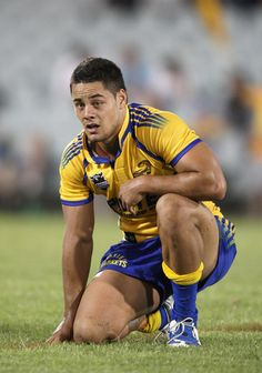 Jarryd Hayne Photos Photos: NRL Trial - Eels v Roosters Athletic Supporter, Athletic Men, Rugby League, Rugby Players, Rugby Shorts, Australian Football, Rugby Men, Beefy Men, Shirtless Men